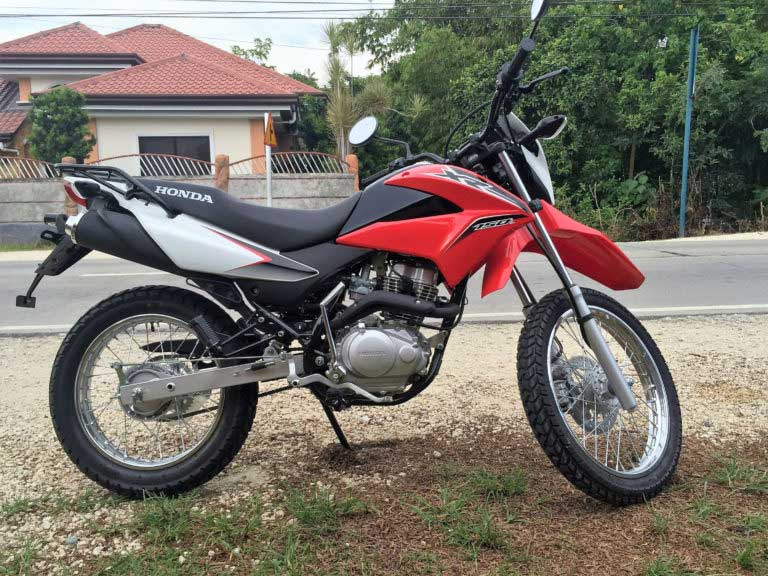 Rent trail bike - motorcycle rental in Bohol. Book here
