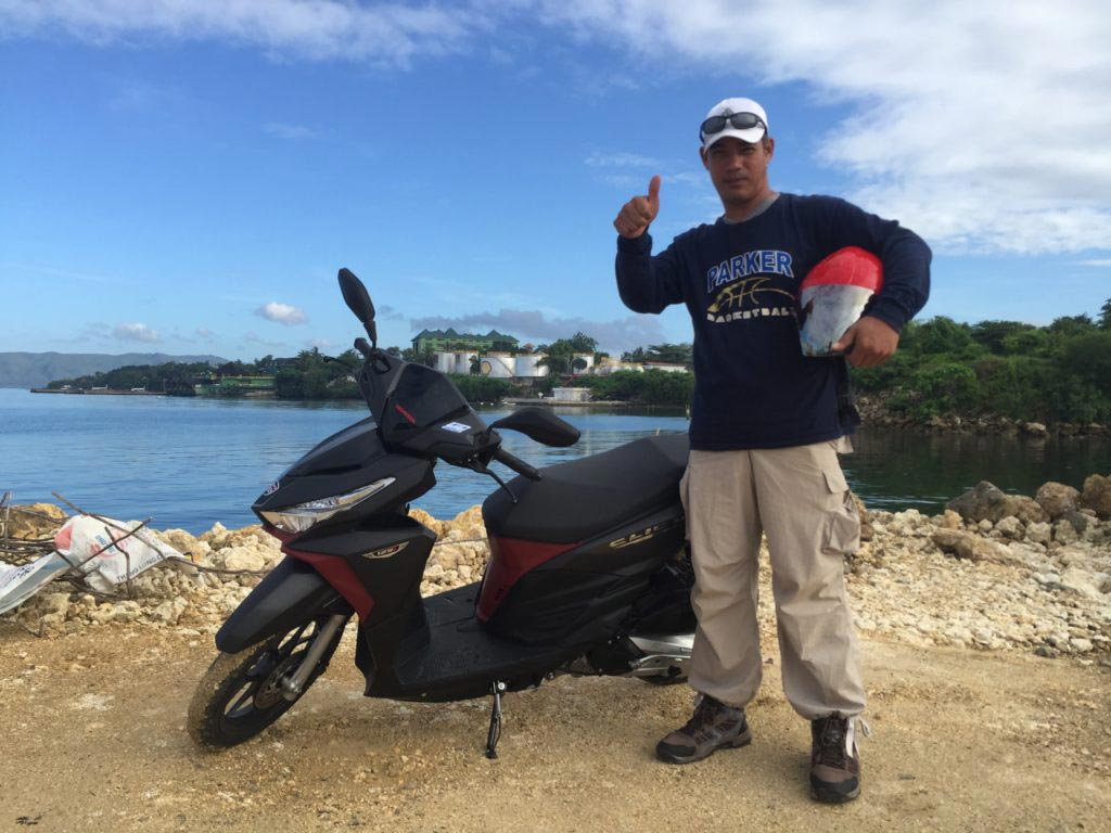 Guided motorcycle tours in Bohol - rent a motorcycle with driver in Bohol