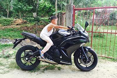 Reliable motorcycle rental in Bohol