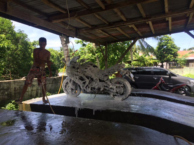 Motorcycles for rent in Alona Beach