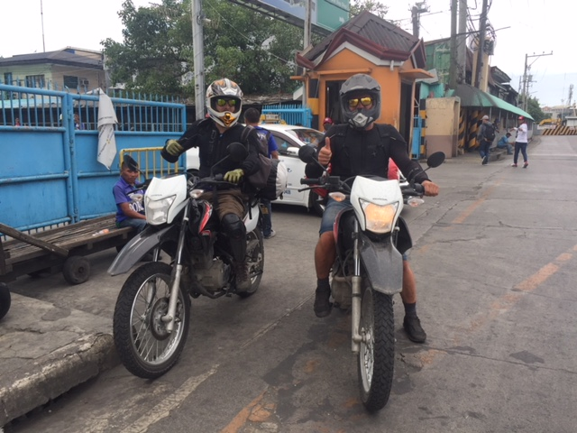 Happy bikers - rent a motorcycle in Bohol
