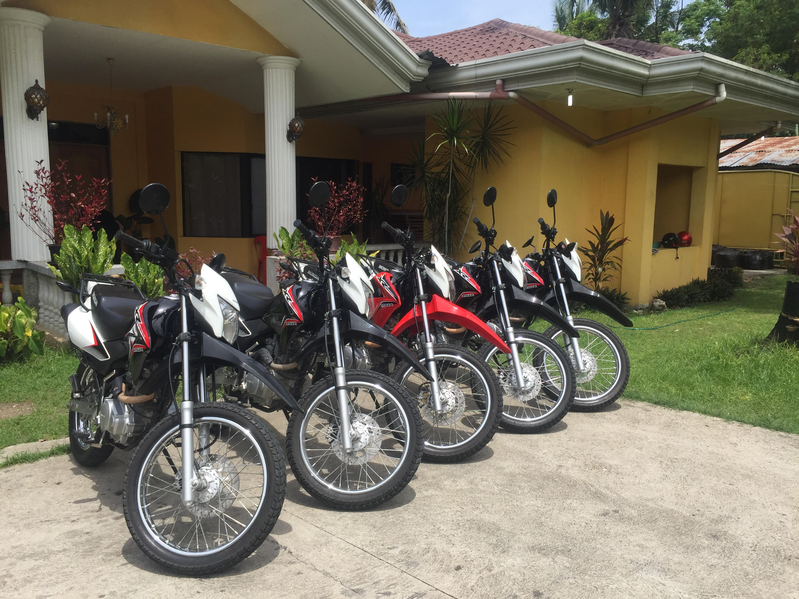 Book motorcycle for rent in Panglao