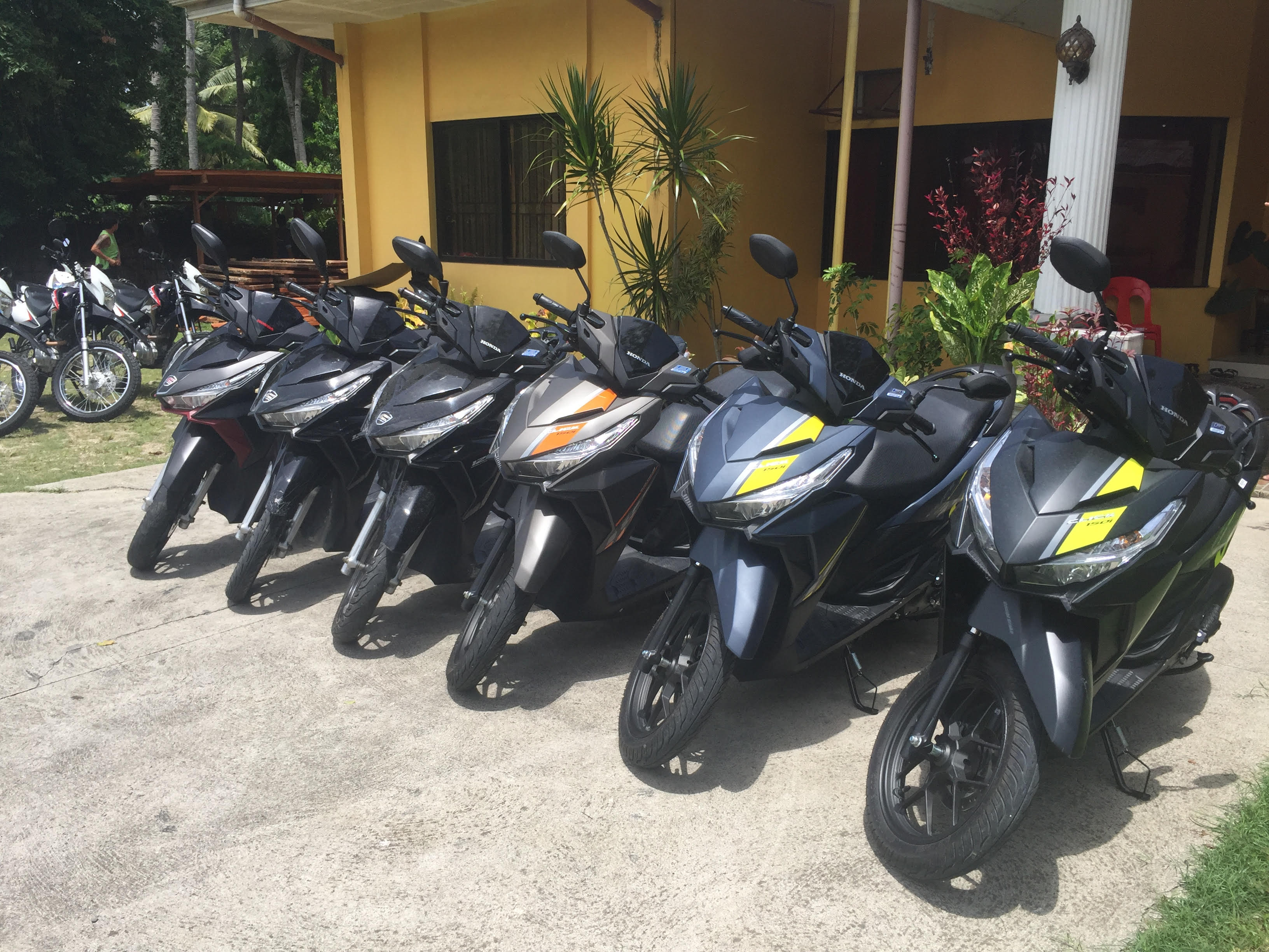 Best scooter rental in Bohol - rent a motorcycle in Bohol